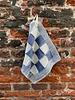 Knit Factory Knit Factory Pannenlap Block 'Ecru/Jeans'