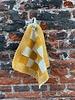 Knit Factory Knit Factory Pannenlap Block 'Ecru/Oker'