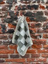 Knit Factory Pannenlap Block 'Ecru/Khaki'