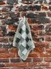 Knit Factory Knit Factory Pannenlap Block 'Ecru/Khaki'