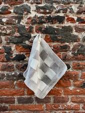 Knit Factory Pannenlap Block 'Ecru/Taupe'