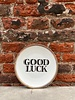 Bitossi Bitossi Funky Table Plate 'Good Luck'