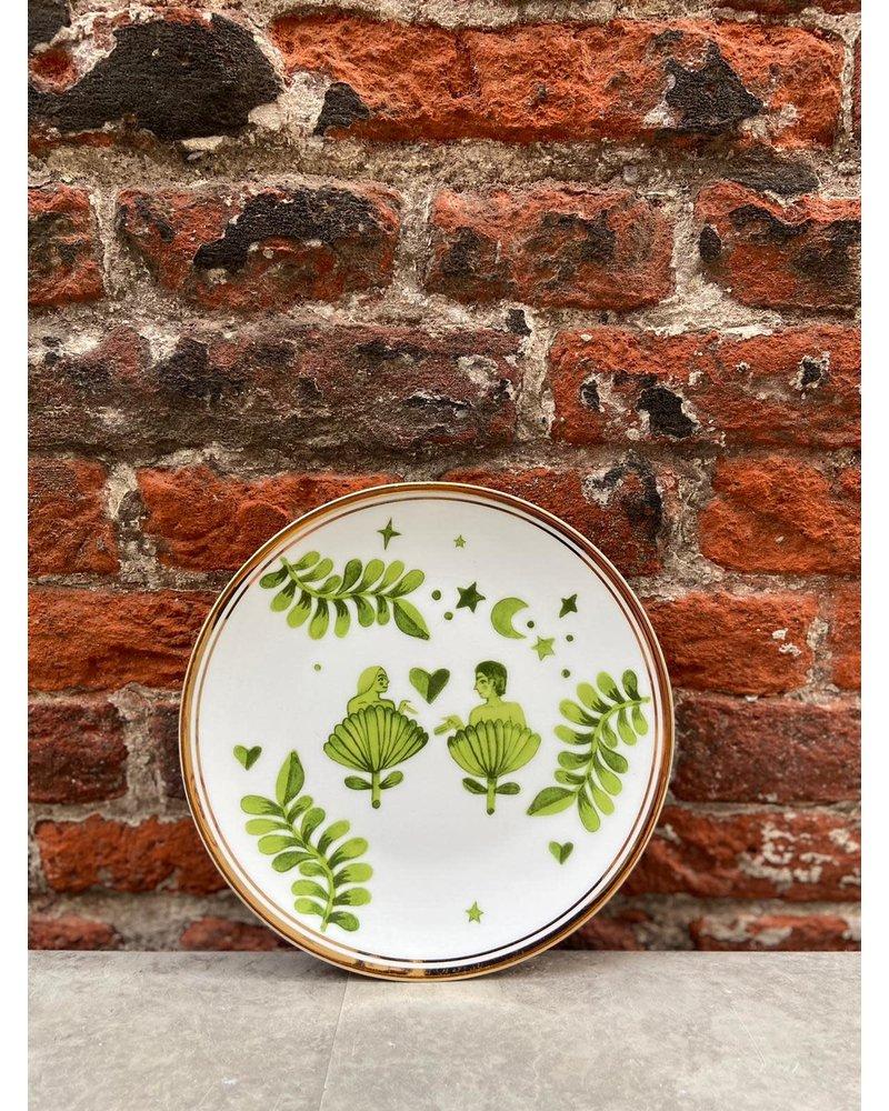 Bitossi Bitossi Funky Table Plate 'Man & Woman'