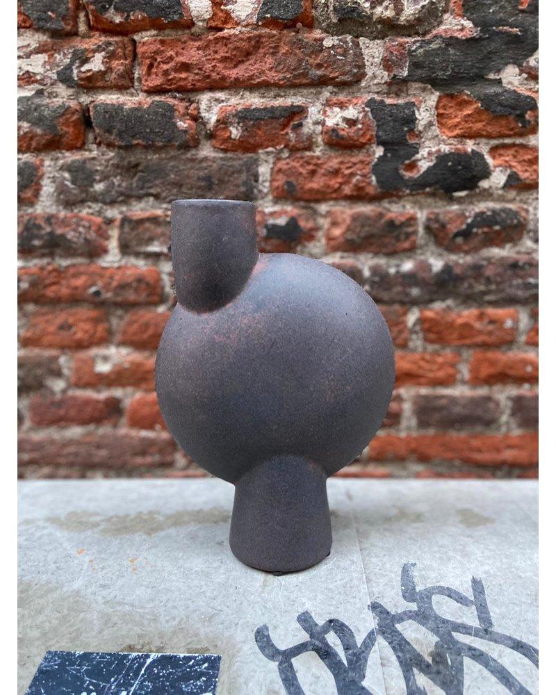 101 Copenhagen 101 Copenhagen Sphere Vase Bubl Medio 'Coffee'