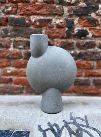 101 Copenhagen Sphere Vase Bubl Medio 'Dark Grey'