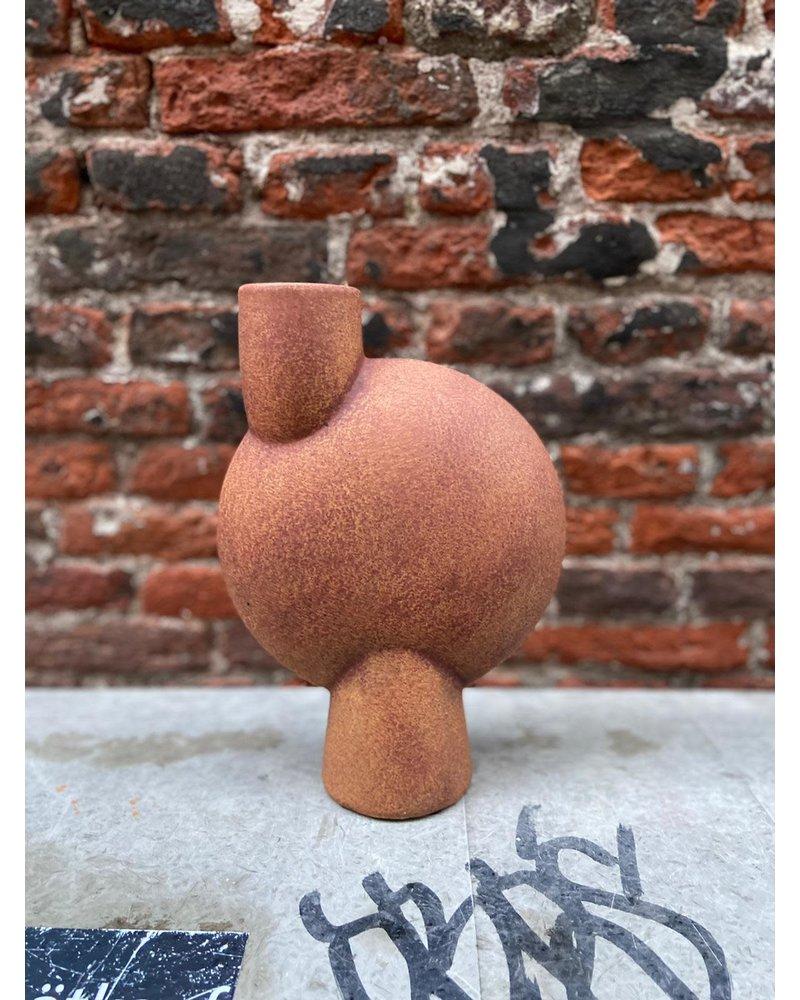 101 Copenhagen 101 Copenhagen Sphere Vase Bubl Medio 'Terracotta'