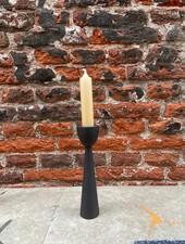 VT wonen Candle Holder Metal Black 16 cm