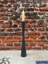 VT wonen Candle Holder Metal Black 30 cm