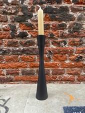 VT wonen Candle Holder Metal Black 25,5 cm