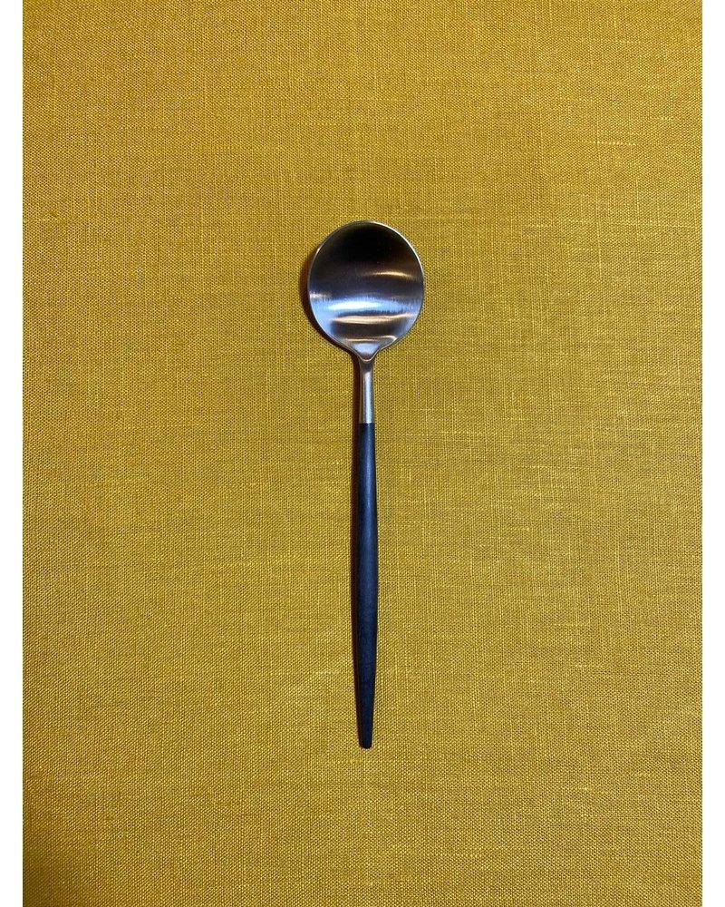 """Cutipol Cutipol Goa Diner lepel """"Zwart Zilver"""""""