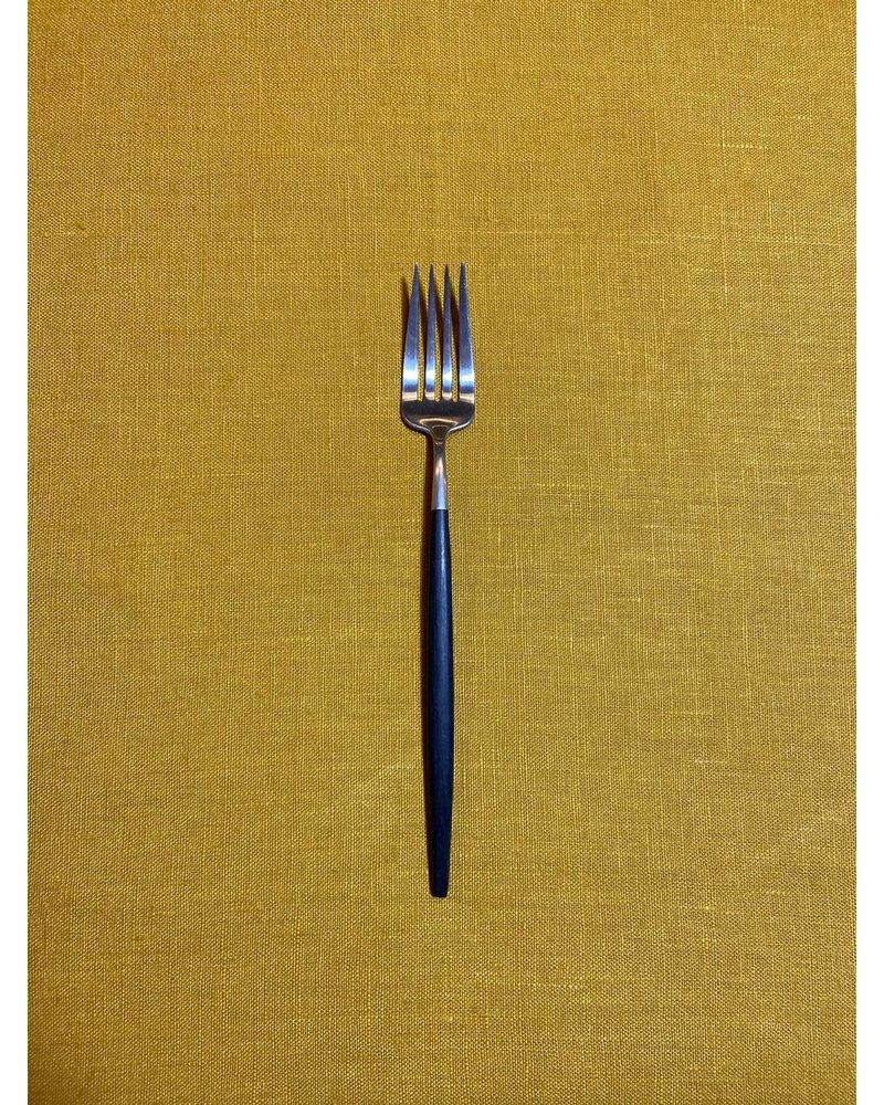 """Cutipol Cutipol Goa Diner vork """"Zwart Zilver"""""""