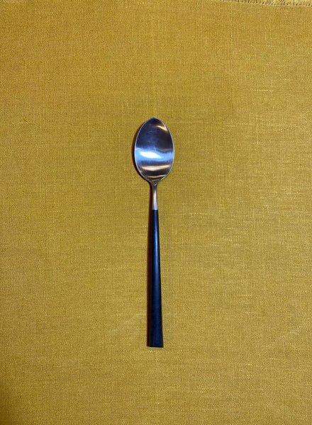 Cutipol Noor Dinerlepel 'Zwart/Zilver'