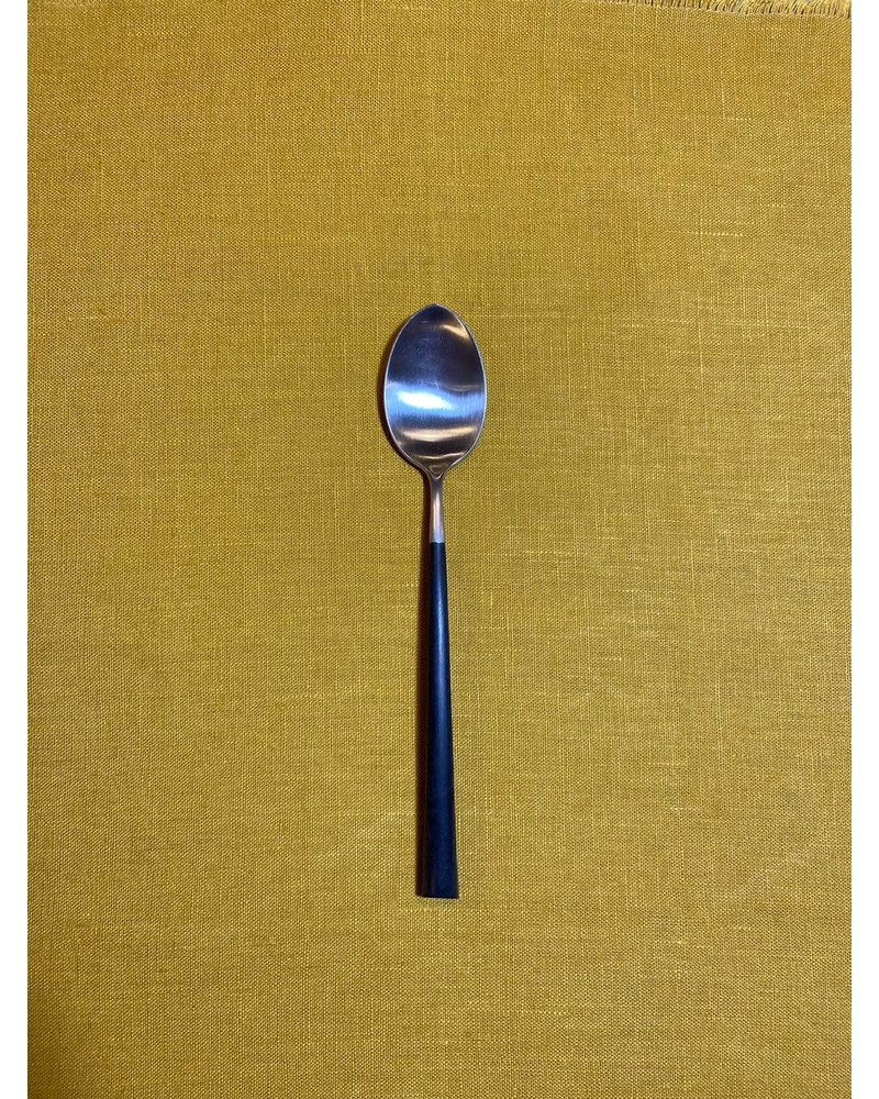 Cutipol Cutipol Noor Dinerlepel 'Zwart/Zilver'