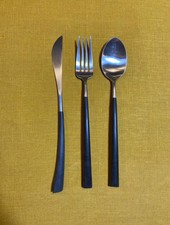 Cutipol Noor Couvert 'Zwart/Zilver