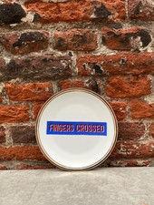 Bitossi Funky Table Plate 'Fingers Crossed'