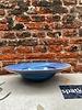 HK living HK living Home Chef Pasta Plate 'Rustic Blue'