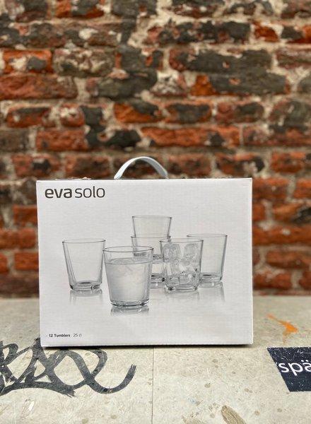 Eva Solo Set van 12 Glazen 250 ml