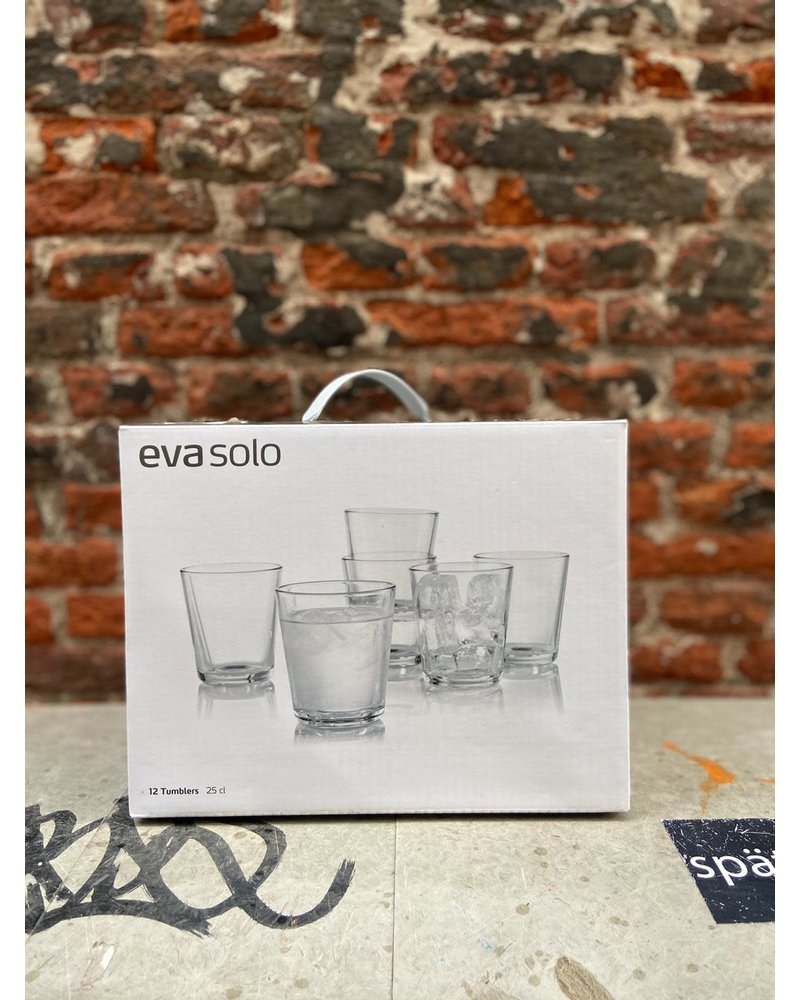 Eva Solo Eva Solo Set van 12 Glazen 250 ml
