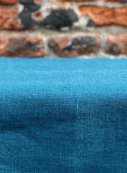 VMAT Linnen Tafelkleed 'Blue de Prusse' 145 x 260 cm