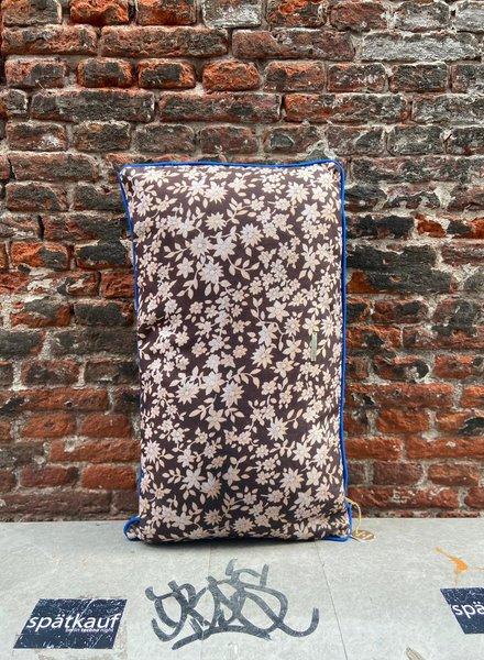 HK living Doris Printed Cushion 'Brown'