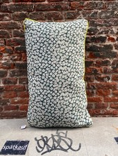 HK living Doris Printed Cushion 'Green'