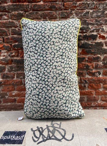 HK living Doris Printed Cushion 'Green'