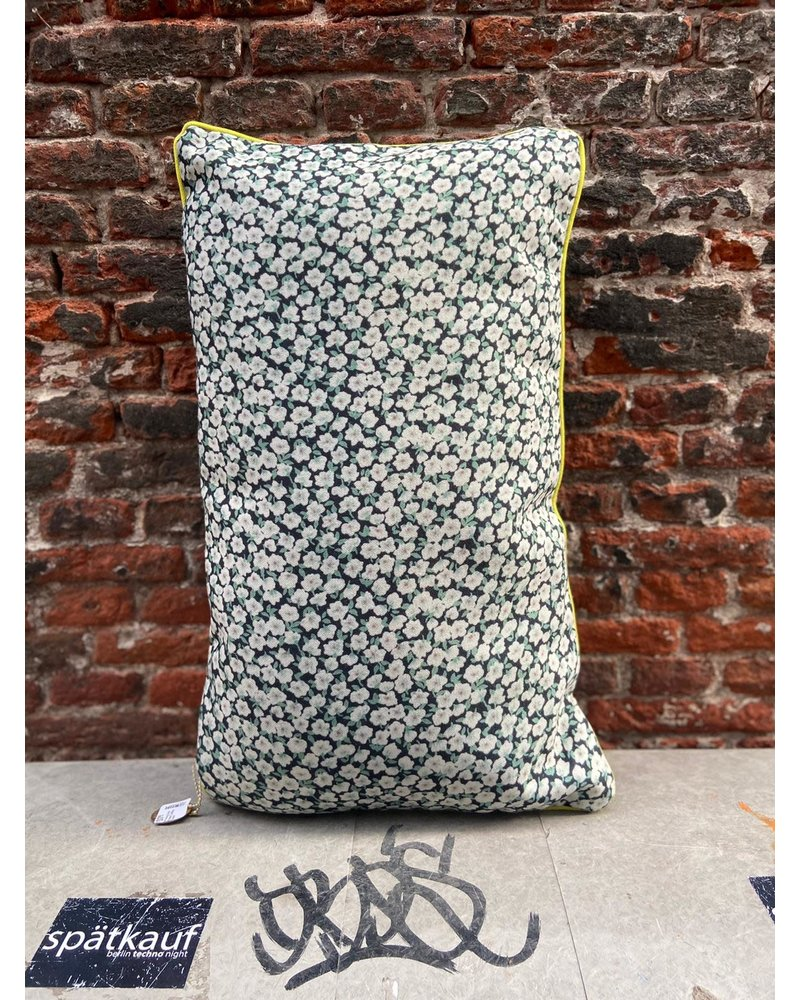 HK living HK living Doris Printed Cushion 'Green'