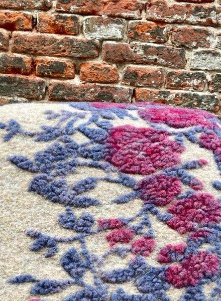 Frati Blanket Stripe Rose 'Bordeaux'