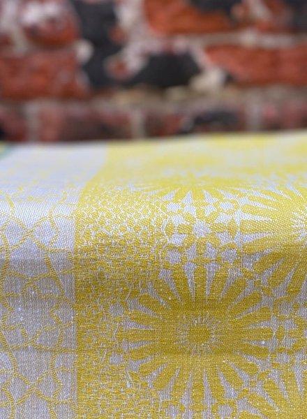 Le Jacquard Francais Jardin d'Orient Tafelloper 50 x 200 cm 'Yellow'