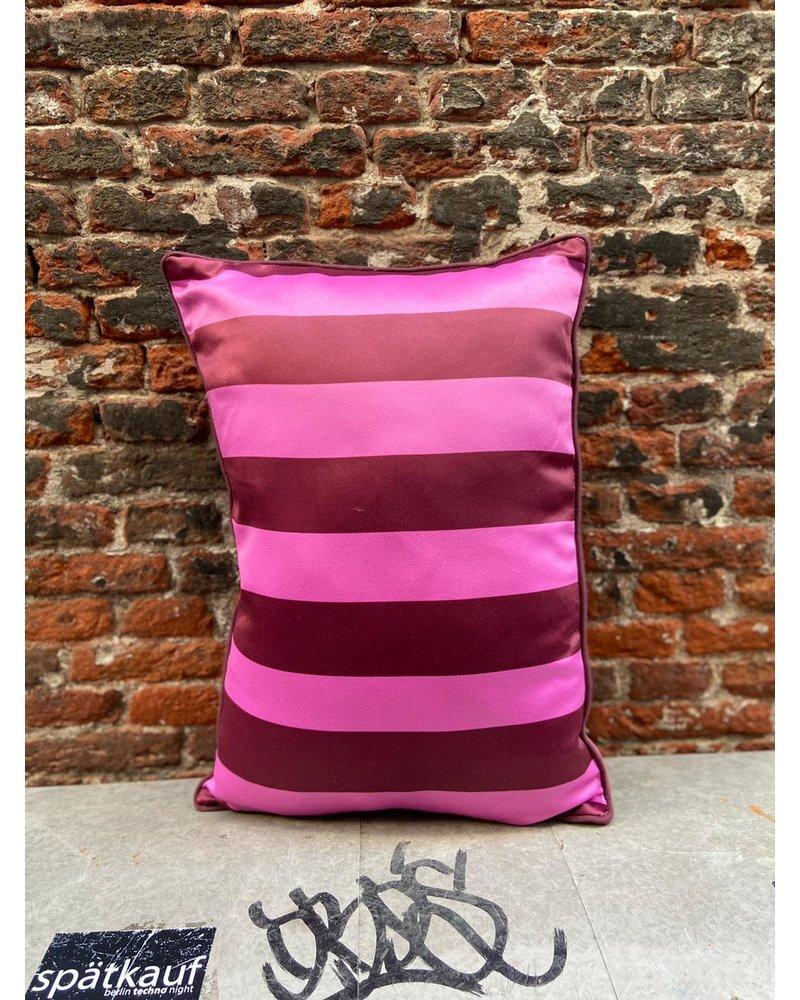 HK living HK living Satin/Velvet Cushion Pink/Purple