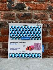 Roll'Eat Snack'n Go 'Tiles Blue'