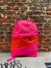 Susan Bijl Foldable Backpack M 'Pretty Pink & Red Alert'