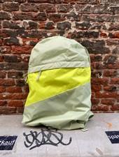 Susan Bijl Foldable Backpack L 'Pistachio & Fluo Yellow'