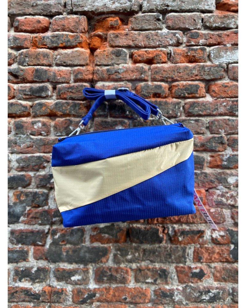 Susan Bijl Susan Bijl Bum Bag M 'Electric Blue & Cees'