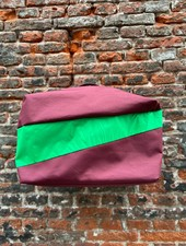 Susan Bijl 24/7 Bag 'Burgundy & Greenscreen'