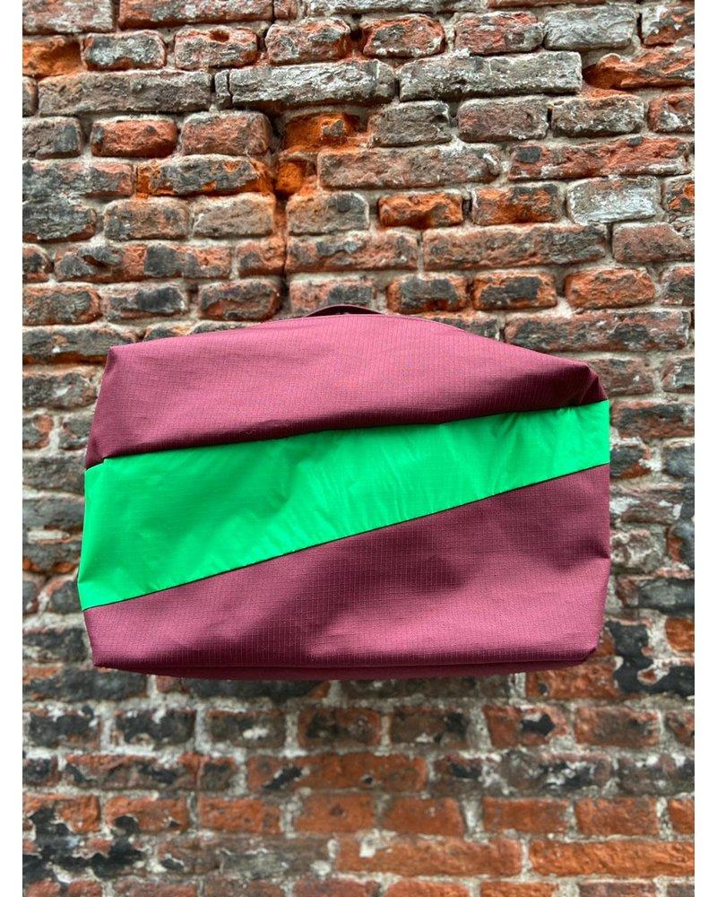 Susan Bijl Susan Bijl 24/7 Bag 'Burgundy & Greenscreen'