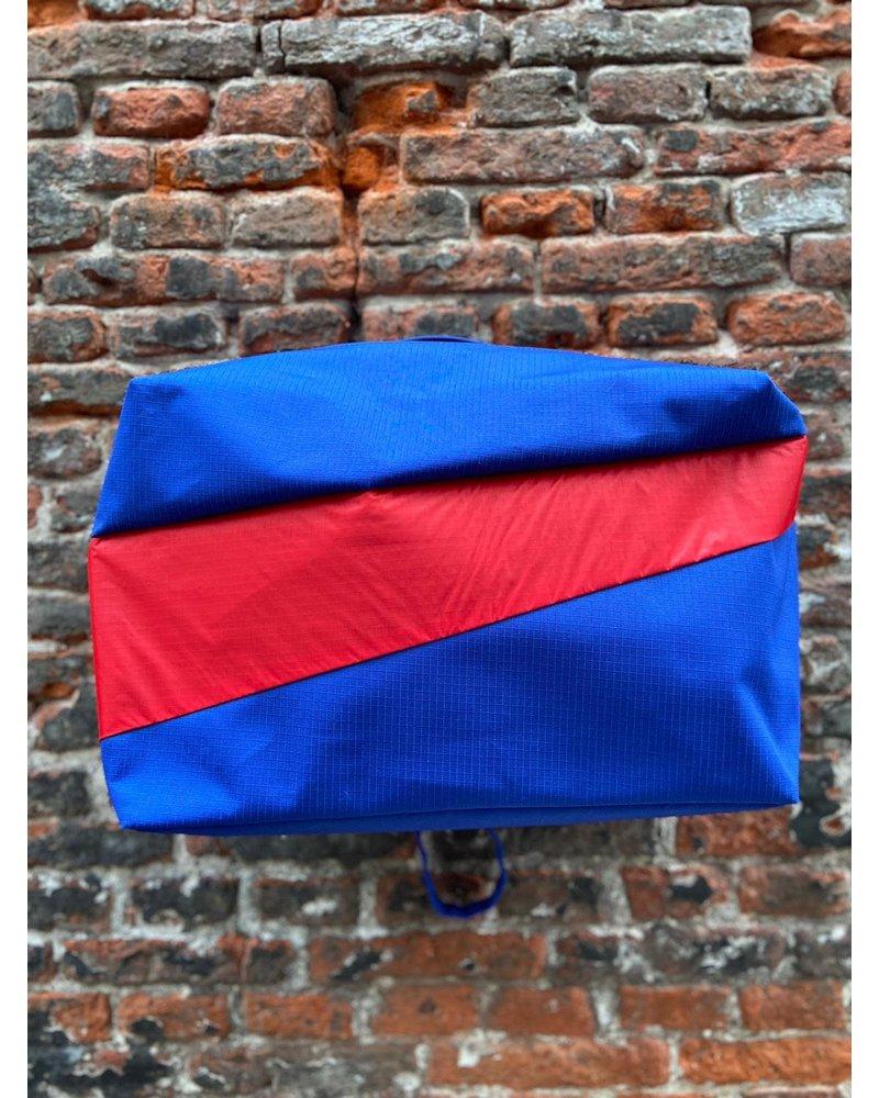Susan Bijl Susan Bijl 24/7 Bag 'Electric Blue & Redlight'