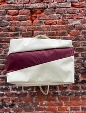 Susan Bijl 24/7 Bag 'Pistachio & Burgundy'