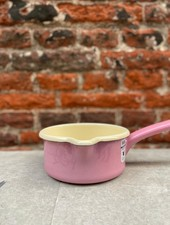 Riess Low Saucepan 12 cm/0,5 l 'Pink'
