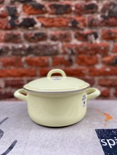 Riess Pan with Chrome Edge 16 cm/1 l 'Lemon Yellow'