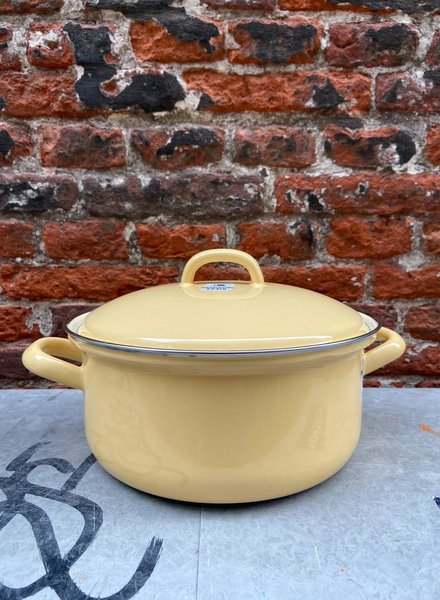 Riess Pan with Chrome Edge 20 cm/2 l 'Golden Yellow'