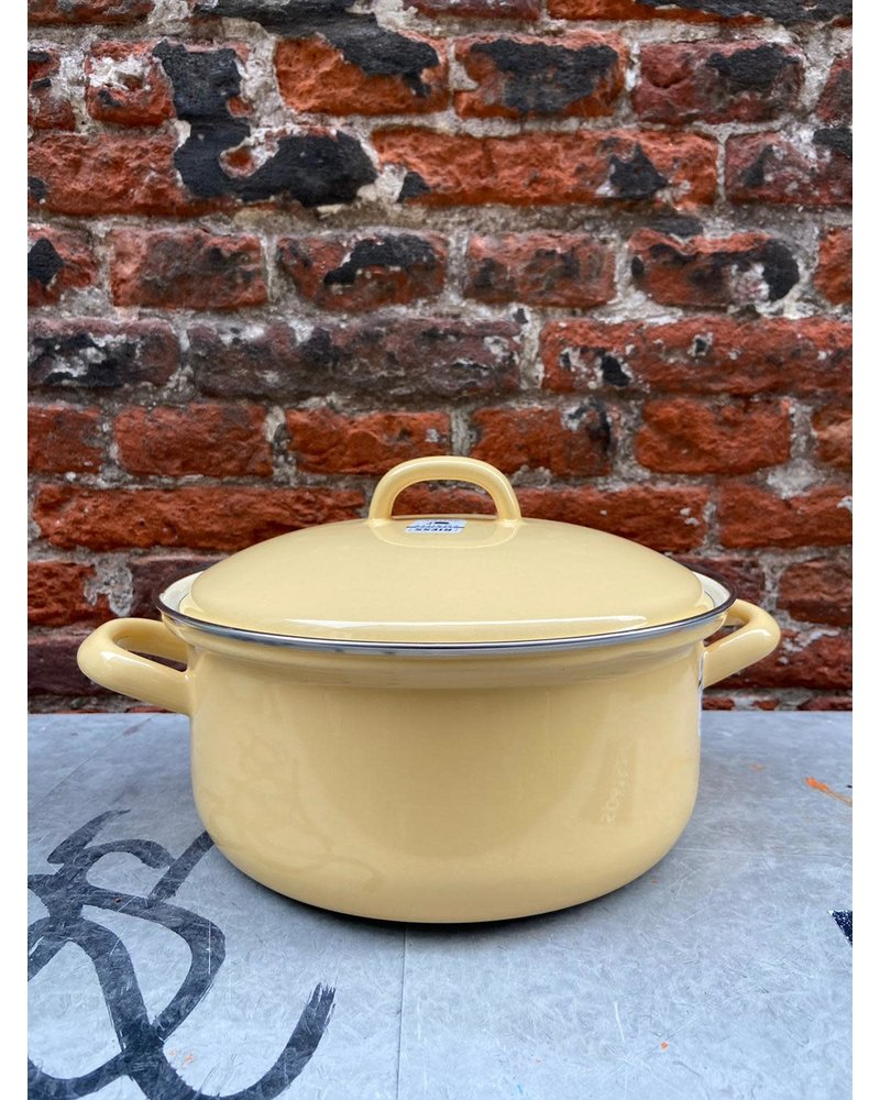 Riess Riess Pan with Chrome Edge 20 cm/2 l 'Golden Yellow'