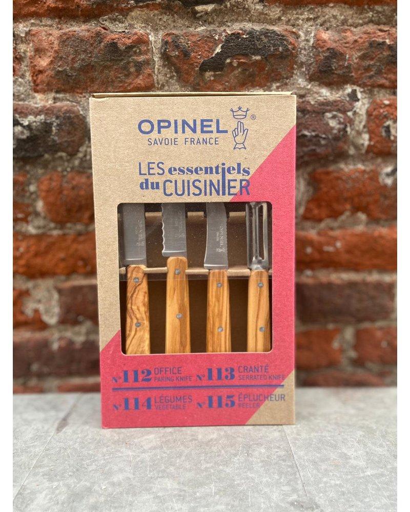 Opinel Opinel Keukenset 4-delig 'Les Essentiels'