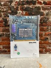 Snurk Dekbedovertrek 140 x 200/220 cm 'Robot'