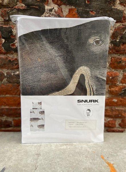 Snurk Dekbedovertrek 140 x 200/220 cm 'Potvis'
