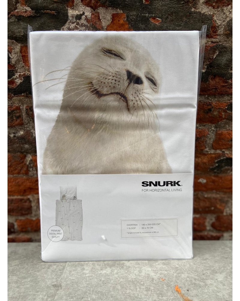 Snurk Snurk Dekbedovertrek 140 x 200/220 cm 'Arctic Friends'