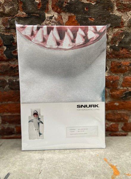 Snurk Dekbedovertrek 140 x 200/220 cm 'Shark!'