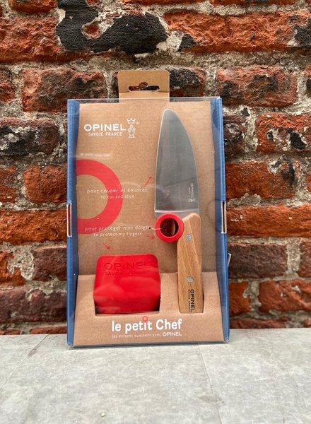 Opinel Le Petit Chef Mes + Vingerbescherming