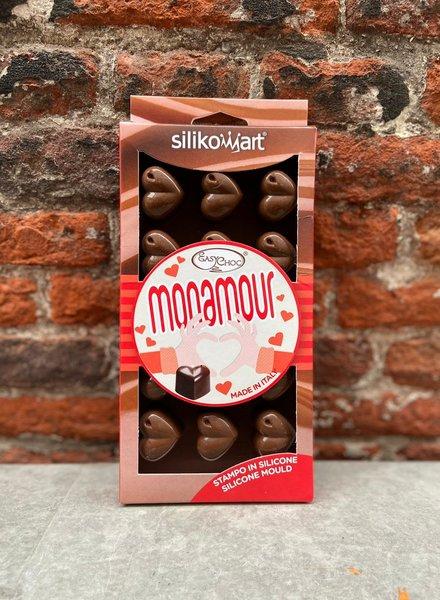 Chocoladevorm Hartjes