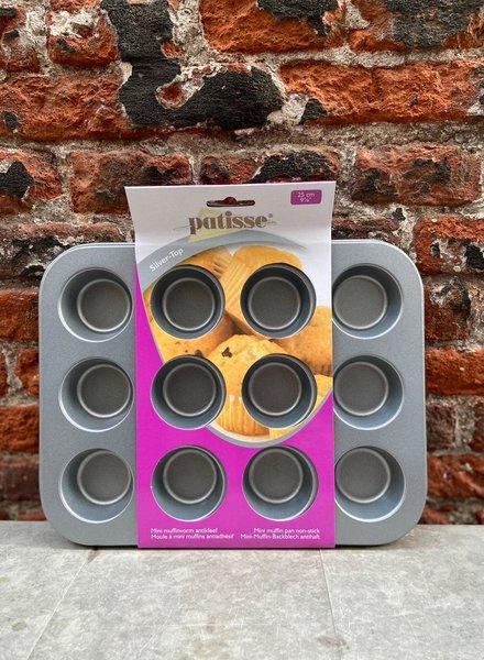 Patisse Mini Muffinvorm 12-Vaks